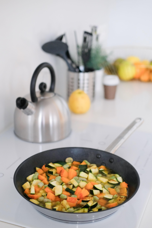 Овощное рагу с бобовыми
