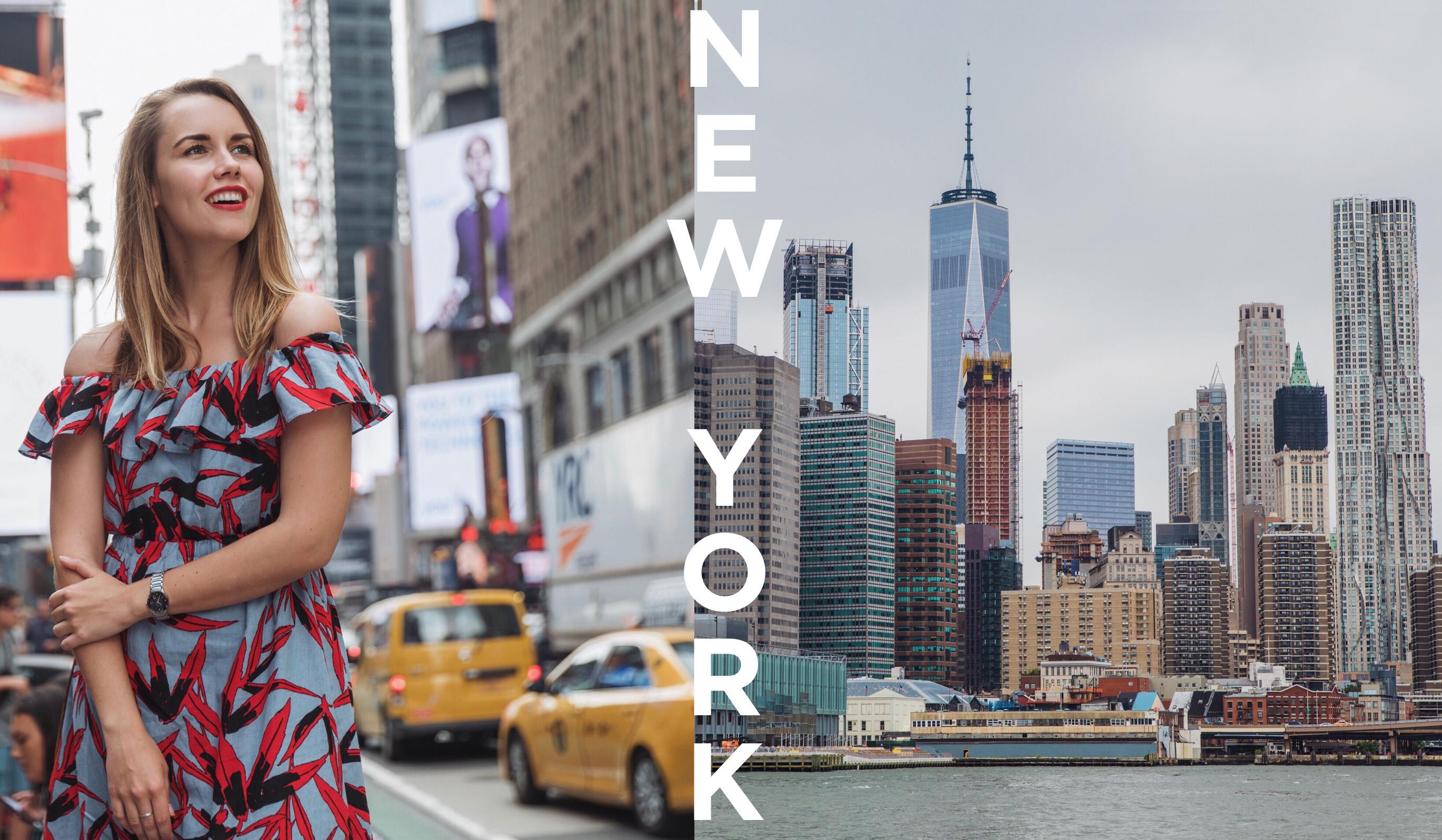 МОЙ ПЕРВЫЙ РАЗ В НЬЮ-ЙОРКЕ